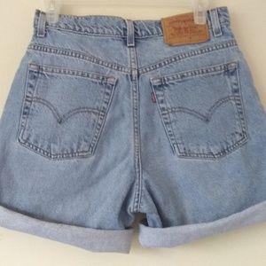 Vintage Levi's Shorts Women's Size 8